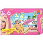 Quebra - Cabeça 100 Peças - Barbie Praia - Mattel