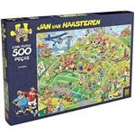 Quebra-Cabeça Comic Puzzle Futebol 500 Peças - Grow