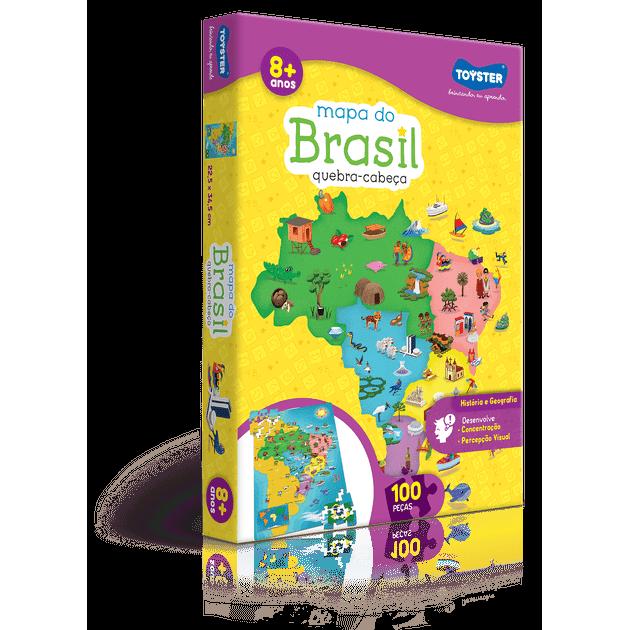 Quebra-cabeça Mapa do Brasil