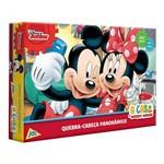 Quebra Cabeça Mickey House 250 Peças -Toyster