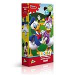 Quebra-cabeça Mini - 60 Peças - Disney - a Casa do Mickey Mouse - Pato Donald e Margarida - Toyster