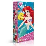Quebra-Cabeça Mini - 60 Peças - Disney - Princesas Disney - a Pequena Sereia - Toyster