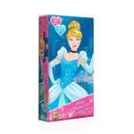 Quebra Cabeça Mini Princesas Disney Cinderela Toyster