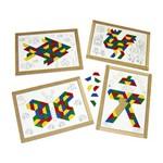 Quebra-Cabeça Mosaico 160 Peças - Colorido Carlu Brinquedos