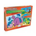 Quebra-Cabeça Progressivo Dinossauros 15-20-25 Peças - Big Star