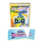 Quebra-Cabeça Silabico Transilaba 16 Peças - Colorido Carlu Brinquedos