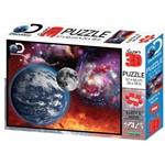 Quebra Cabeça Super 3D Universo 500 Peças - Multikids