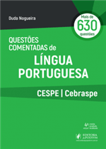 Questões Comentadas de Língua Portuguesa CESPE/CEBRASPE (2019)