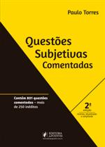 Questões Subjetivas Comentadas (2019)