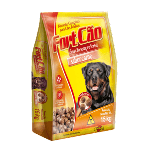 Ração Adimax Pet Fortcão Carne para Cães Adultos 7kg