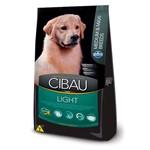 Ração Cibau Medium & Maxi Light para Cães Adultos de Porte Médio e Grande - 12kg