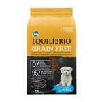 Ração Equilibrio Grain Free para Cães Filhotes Raças Mini Sabor Mandioca 1,5kg