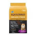 Ração Equilibrio Grain Free para Cães Sênior Raças Mini Sabor Mandioca 1,5kg
