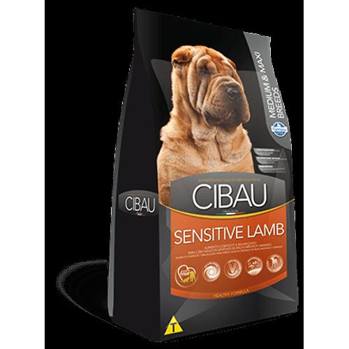 Ração Farmina Cibau Sensitive Lamb Medium & Maxi Breeds para Cães Adultos - 12Kg 12kg