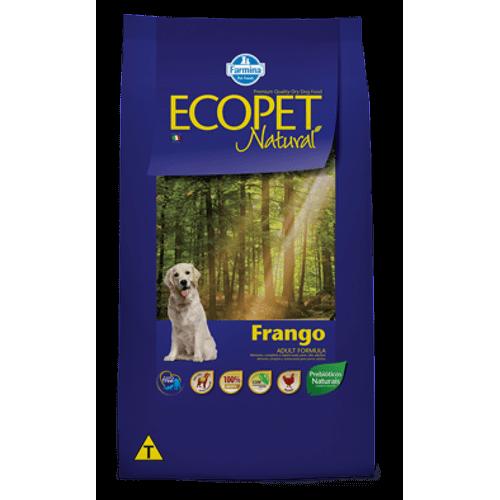 Ração Farmina Ecopet Natural Frango para Cães 15Kg