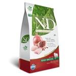 Ração Farmina N&D Caes Adultos Medium Frango e Romã 10,1kg
