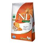 Ração Farmina N&d Pumpkin Peixe para Cães Adultos de Raças Pequenas - 800 G