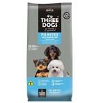 Ração Hercosul Threedogs Especial Frango, Ovos e Arroz para Filhotes de Raças Pequenas e Mini - 8kg