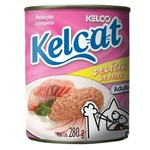 Ração Kelcat Delicia de Peixe 280g - Kelco