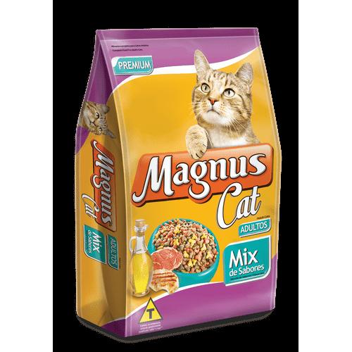 Ração Magnus Cat Mix de Es para Gatos Adultos 25kg