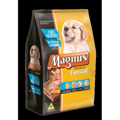 Ração Magnus Especial Frango e Cereais para Cães Filhotes 1kg
