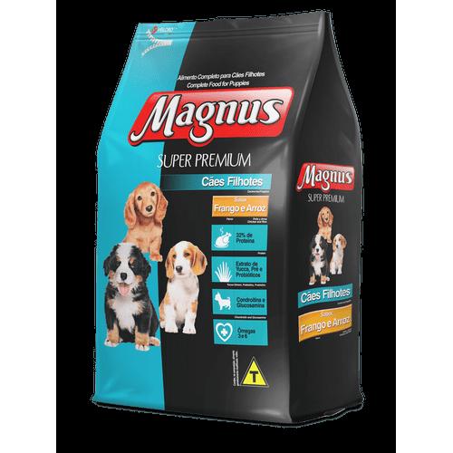 Ração Magnus Frango e Arroz para Cães Filhotes 1kg