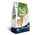 Ração N&d Cordeiro e Blueberry Cães Adultos Raças Médias Farmina - 10,1kg