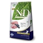 Ração N&d Grain Free Cães Filhotes de Raças Pequenas Sabor Cordeiro e Blueberry - 2,5kg