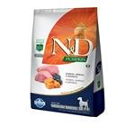 Ração N&D Pumpkin para Cães Adultos Raças Média Sabor Cordeiro, Abóbora e Blueberry - 10,1kg