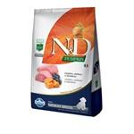 Ração N&D Pumpkin para Cães Filhotes Raças Média Sabor Cordeiro, Abóbora e Blueberry 2,5kg