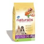 Ração Naturalis Frango, Peru & Vegetais - Raças Pequenas - Total Alimentos - 15kg
