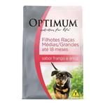 Ração Optimum Frango e Arroz para Cães Filhotes Raças Médias e Grandes 3kg