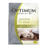 Ração Optimum Frango para Gatos Adultos 10,1kg