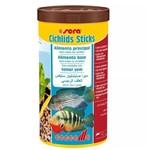 Ração para Peixes Sera Cichlids Sticks 210g