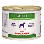 Ração Royal Canin Lata Canine Veterinary Diet Satiety Support Wet para Cães Adult Obesos - 195 G