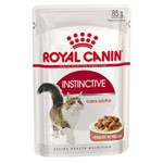 Ração Royal Canin Sachê para Gatos Instinctive - 85g