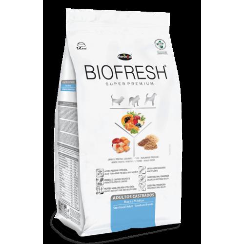 Ração Super Premium Biofresh para Cães Castrados de Raças Médias 3kg