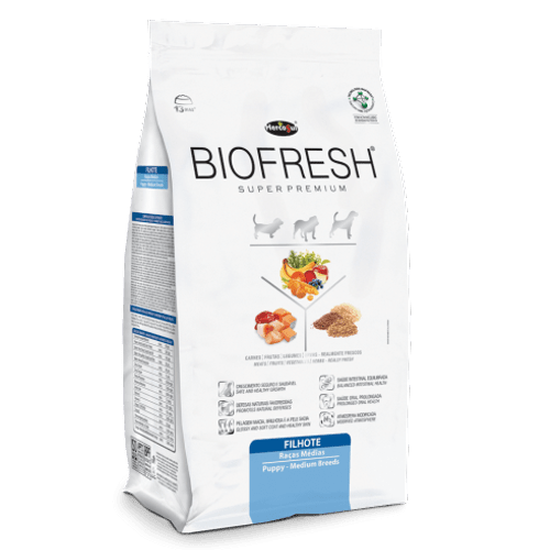 Ração Super Premium HercoSul Biofresh Light para Cães Adultos de Raças Médias 7,5kg