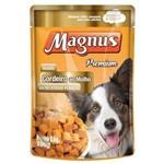 Ração Úmida Magnus Sachê para Cães Adultos Sabor Cordeiro 85