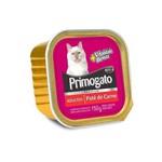 Ração Úmida Patê Primogato Carne para Gatos Adultos 150g