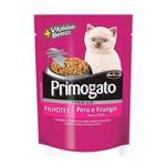 Ração Úmida Sachê Primogato Frango e Peru para Gatos Filhotes 85g