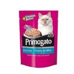 Ração Úmida Sachê Primogato Frutos do Mar para Gatos Adultos 85g