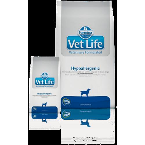 Ração Vet Life Hypoallergenic para Cães – 2Kg 2kg