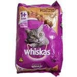 Ração Whiskas Peixes e Frutos do Mar para Gatos Adultos 1kg