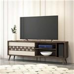 Rack Bancada para Tv Até 55'' Levis Deck/off White - Hb Móveis