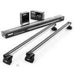 Rack de Teto Thule Slidebar em Alumínio para Volvo Xc 60, 5-p Suv com Longarina Integrada, 17 em Dia