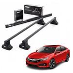 Rack de Teto Thule SquareBar Honda Civic 2017 a 2019 712300