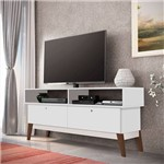 Rack para Tv Retrô Brilho – Genialflex - Branco