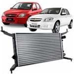 Radiador Valeo Chevrolet Celta 2006 Até 2016 e Prisma 2006 Até 2012 Motor 1.0 e 1.4 Todos com Ar Condicionado