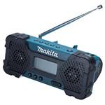 Rádio Am/fm Entrada Aux Sem Bateria 12v Mr052 Makita